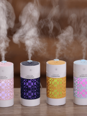 Lucky Cup diffuser Lichtblauw, Donkerblauw, Geel, Roze, 250 ml Lotus Diffusers
