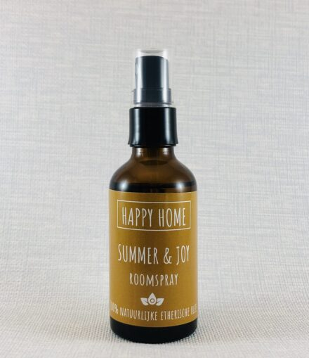 groene linde happy home summer and joy roomspray