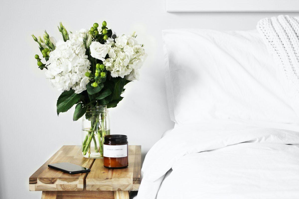 slapen met etherische olie